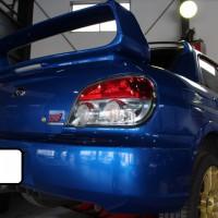 スバル インプレッサWRX STI ホイールハウスカバー交換